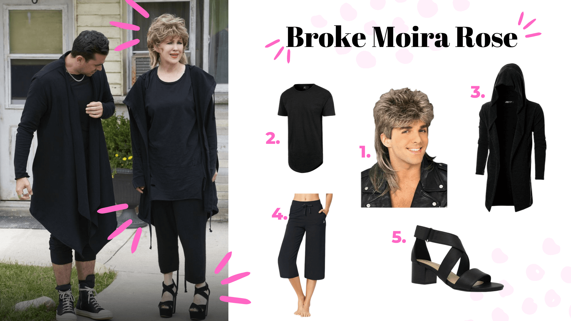 schitt's creek halloween costume broke moira rose