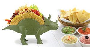 Dinosaur taco holder white elephant gift