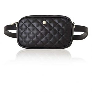 chic quilted fanny pack