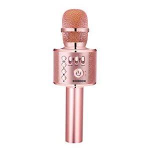 wireless karaoke microphone as a white elephant gift