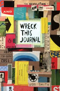Wreck This journal as a gift for teen girls who like to write