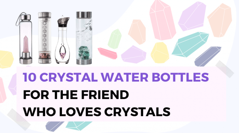 Crystal Water Bottles for Healing and Hydration