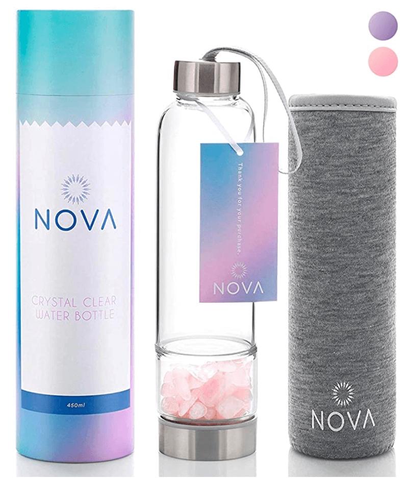 nova crystal water bottle