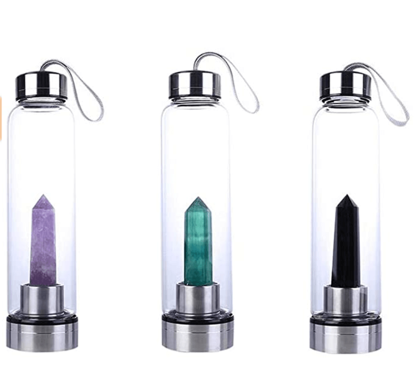 Seahome crystal water bottle