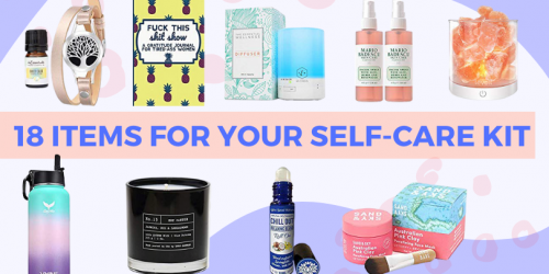 18 Items For Your Self-Care Kit