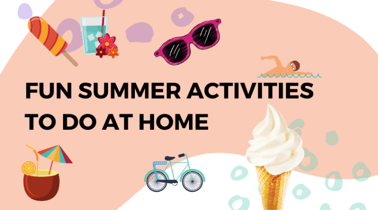 Fun Summer Activities for Adults and Kids To Do at Home
