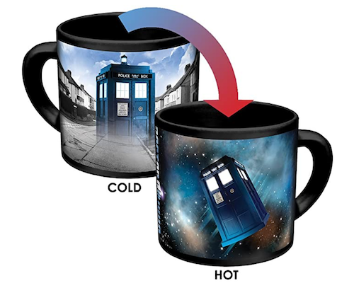 Doctor Who Color Change Mug