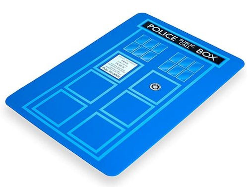 Doctor Who Cutting Board