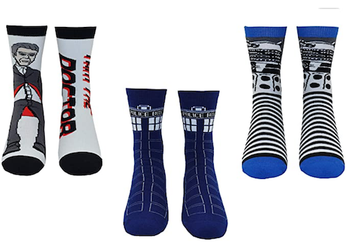 Doctor Who Sock Set