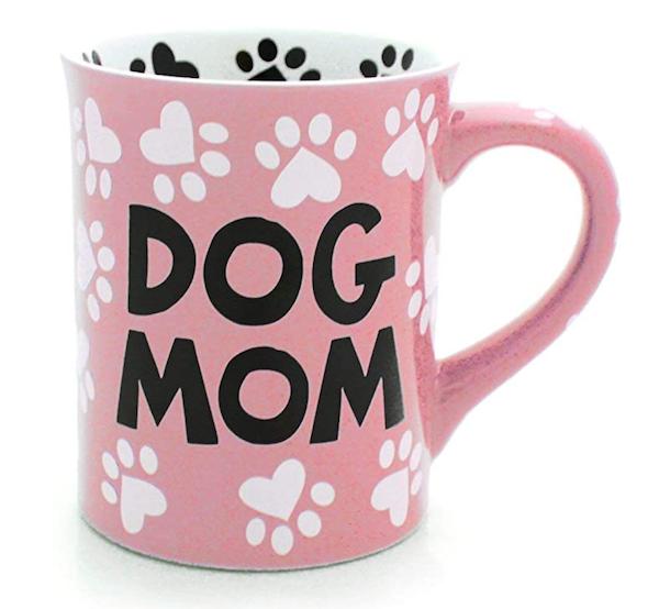 dog mom gift mug