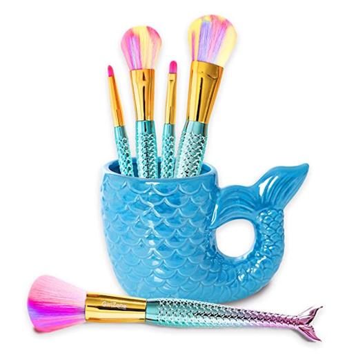 mermaid makeup brushes
