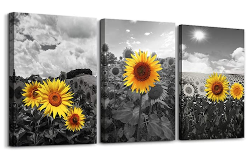 sunflower artwork