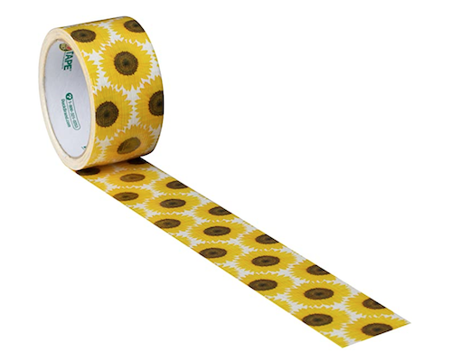 sunflower duct tape