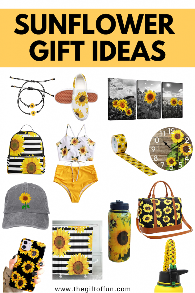 17 Amazing Sunflower Gift Ideas