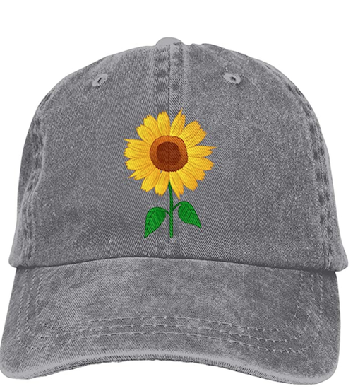 sunflower cap