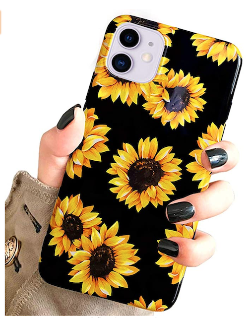 sunflower phone pin