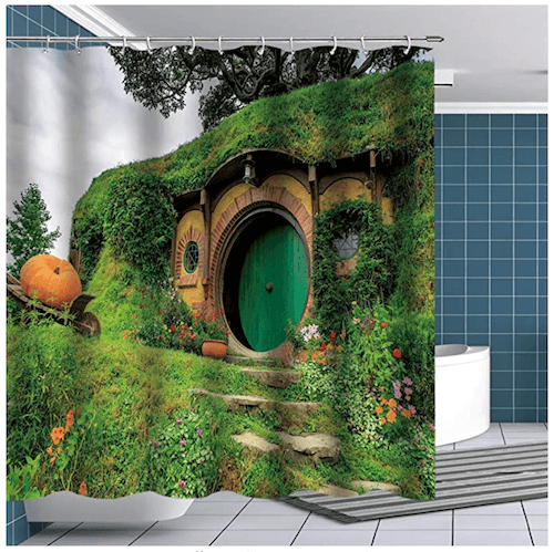 Middle Earth Shower Curtain