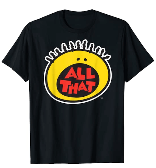 90s Gift Guide - All That T-shirt