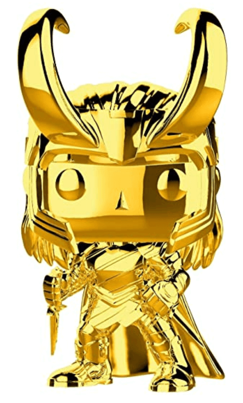Chrome Loki Funko Pop