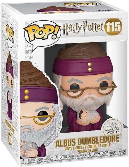 Dumbledore with Baby Harry