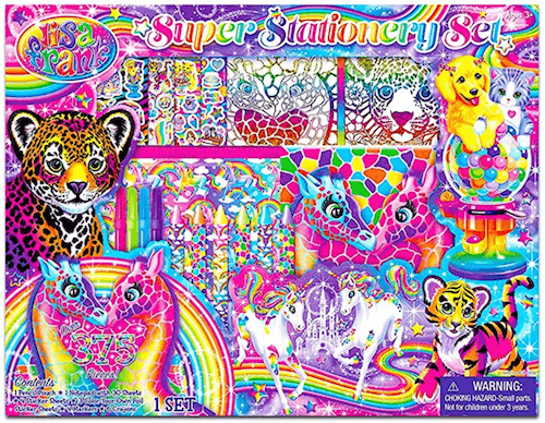 90's Gift Guide - Lisa Frank Art Set