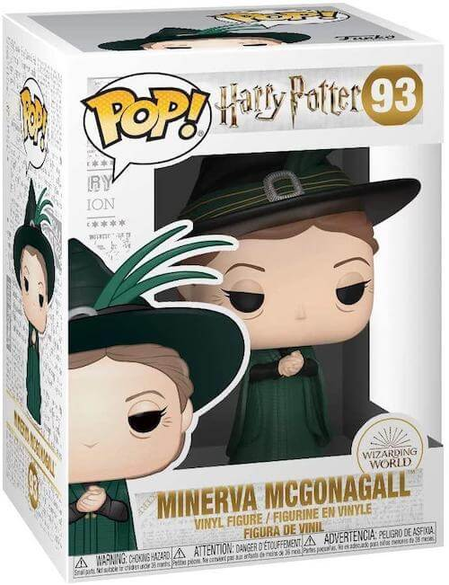 Minerva McGonagall Yule Ball Funko Pop