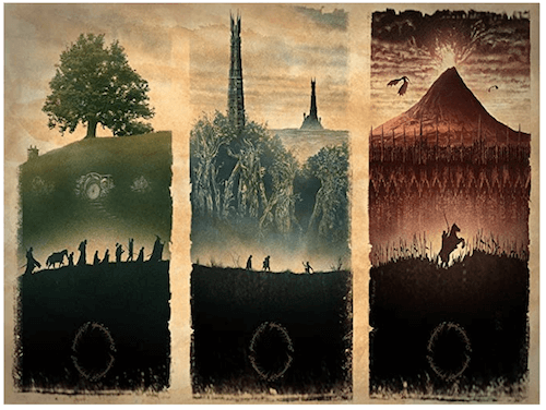 Middle Earth Tapestry