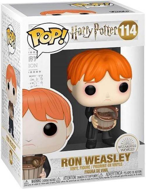 Ron Weasley Puking Slugs Funko Pop