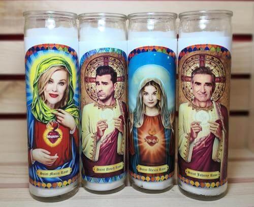 Schitt's Creek Prayer Candles