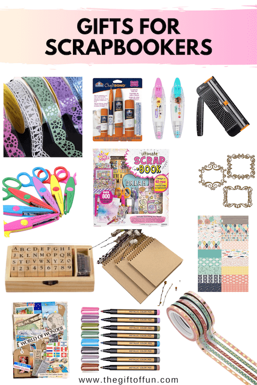 The Ultimate Scrapbookers Gift Guide
