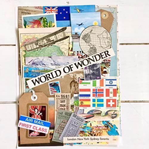 Travel Journal Scrapbooking Kit