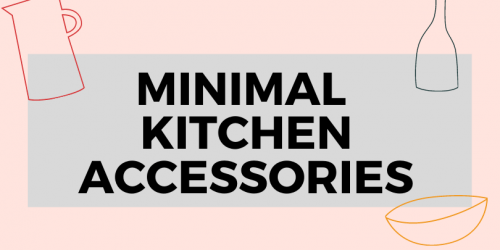 Kitchen Accessory Gift Ideas For Minimalists