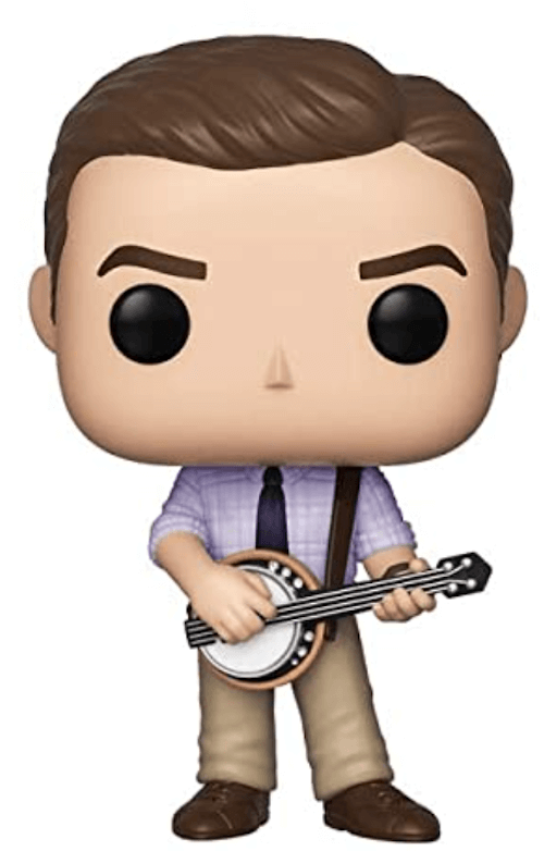 Andy Bernard with a banjo - The Office Funko! Pop