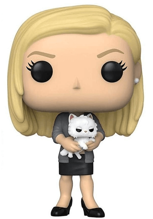 Angela and Sprinkles - The Office Funko! Pop