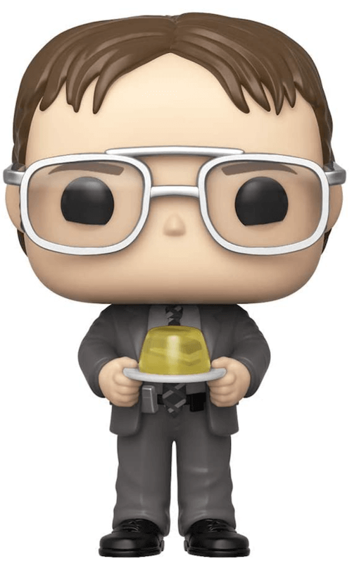Dwight and the Stapler in Jello - The Office Funko! Pop