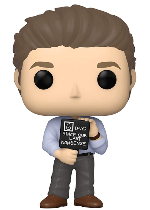 Jim with the nonsense sign - The Office Funko! Pop